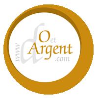 D'or et d'argent logo