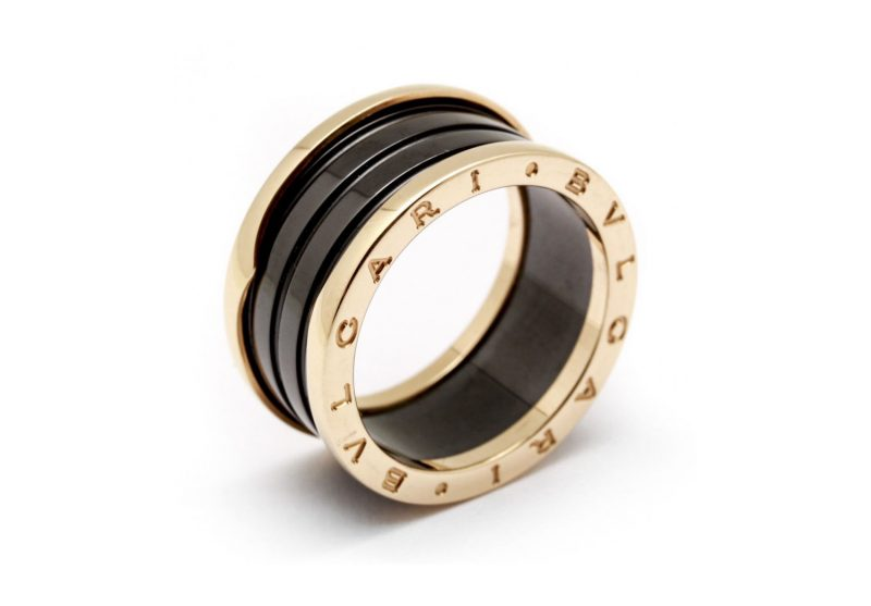 Bague Bvlgari en or