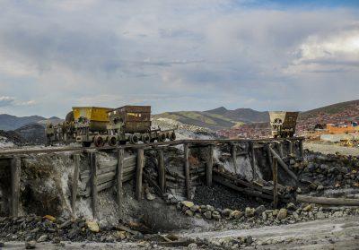 Mine abandonnée à Potosi en Bolivie