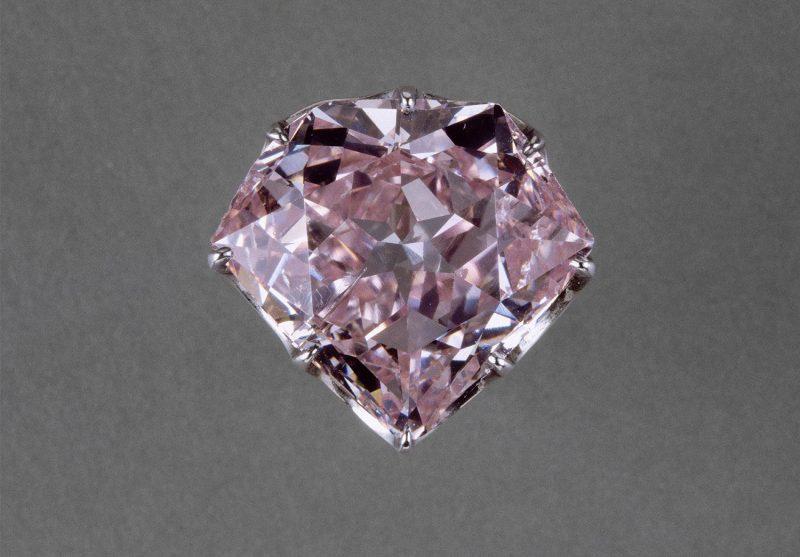 Le diamant rose l'Hortensia