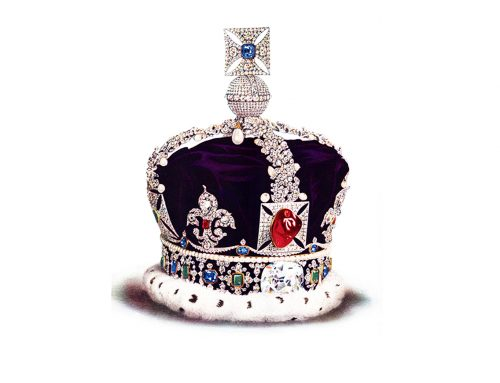 """Black Prince's Ruby"" (Le rubis du prince noir)"